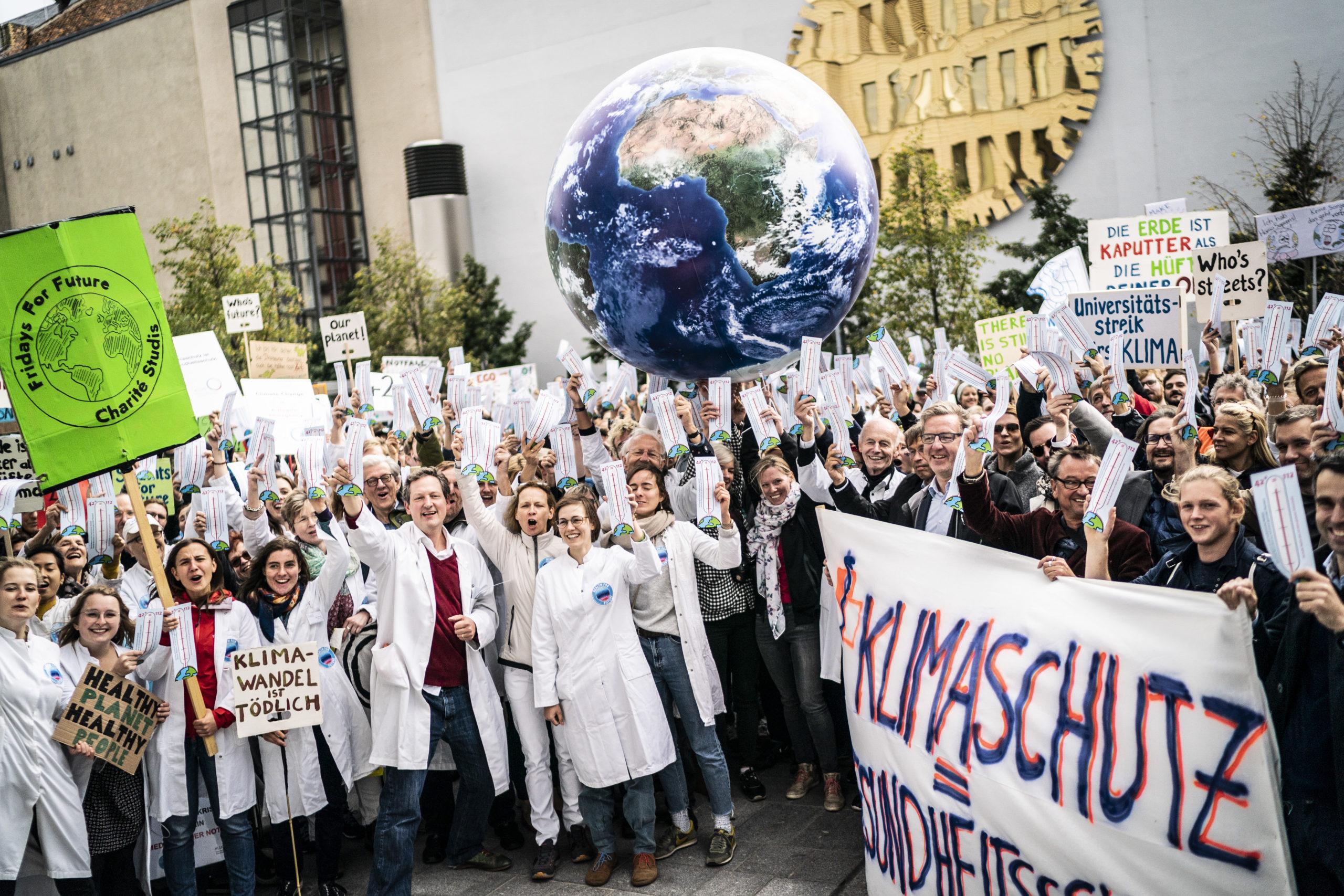 Mit Health for Future beim globalen Klimastreik