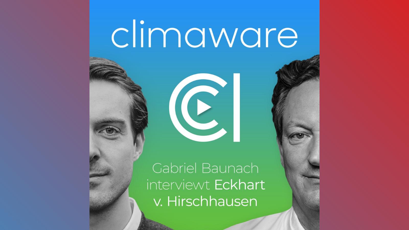 Was können wir aktiv tun? Zu Gast im Climaware Podcast